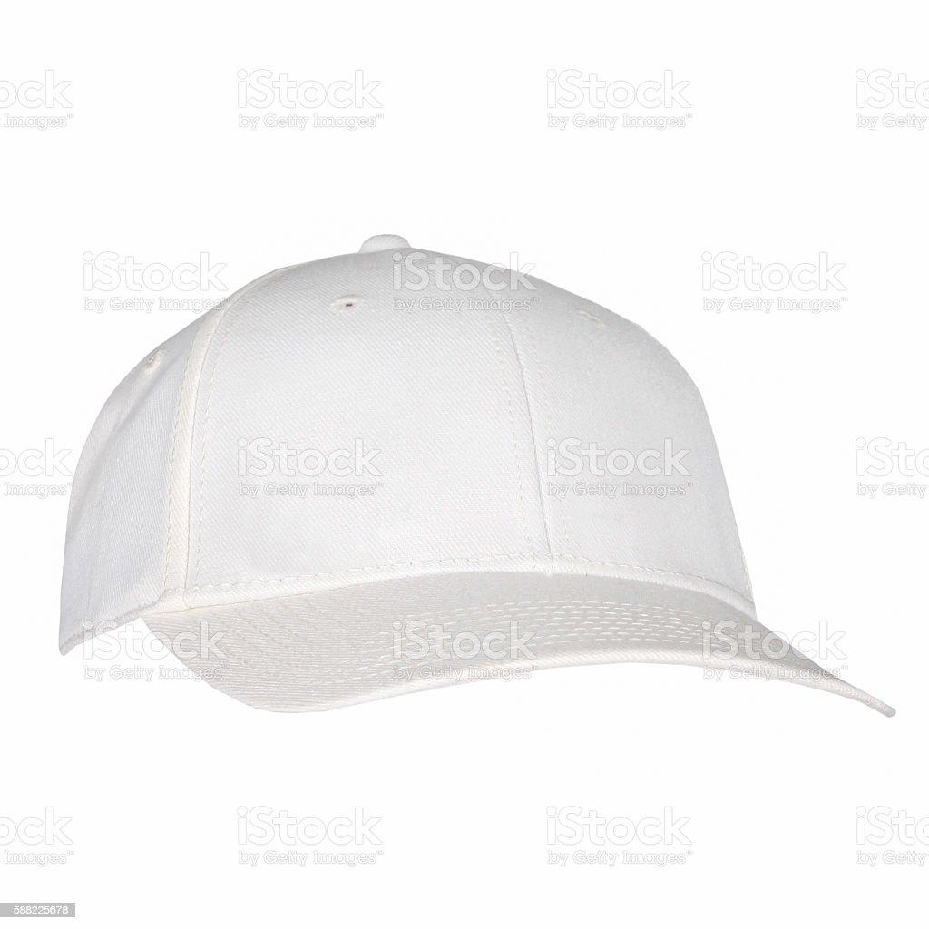 White Hat Isolated stock photo