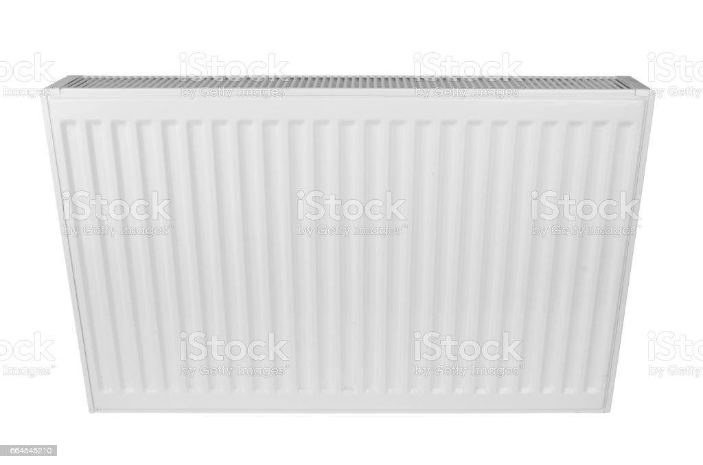White heating radiator royalty-free stock photo
