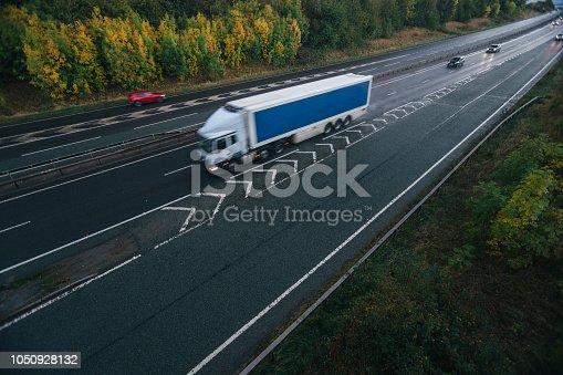 506292564 istock photo White heavy truck 1050928132