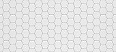 White hexagonal seamless tile texture