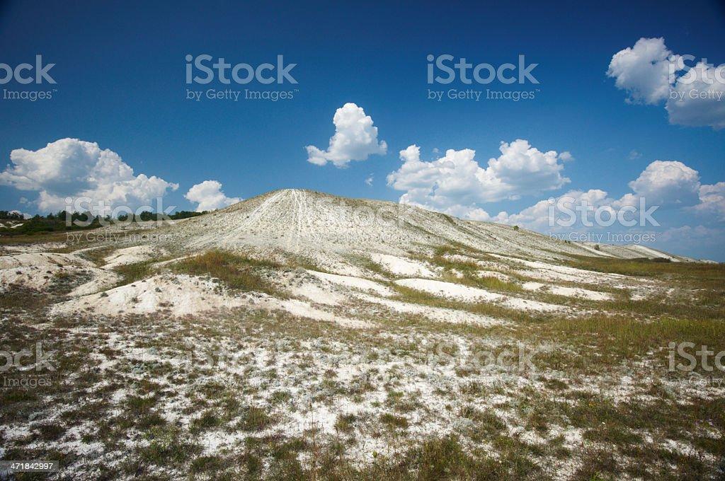 white hill royalty-free stock photo