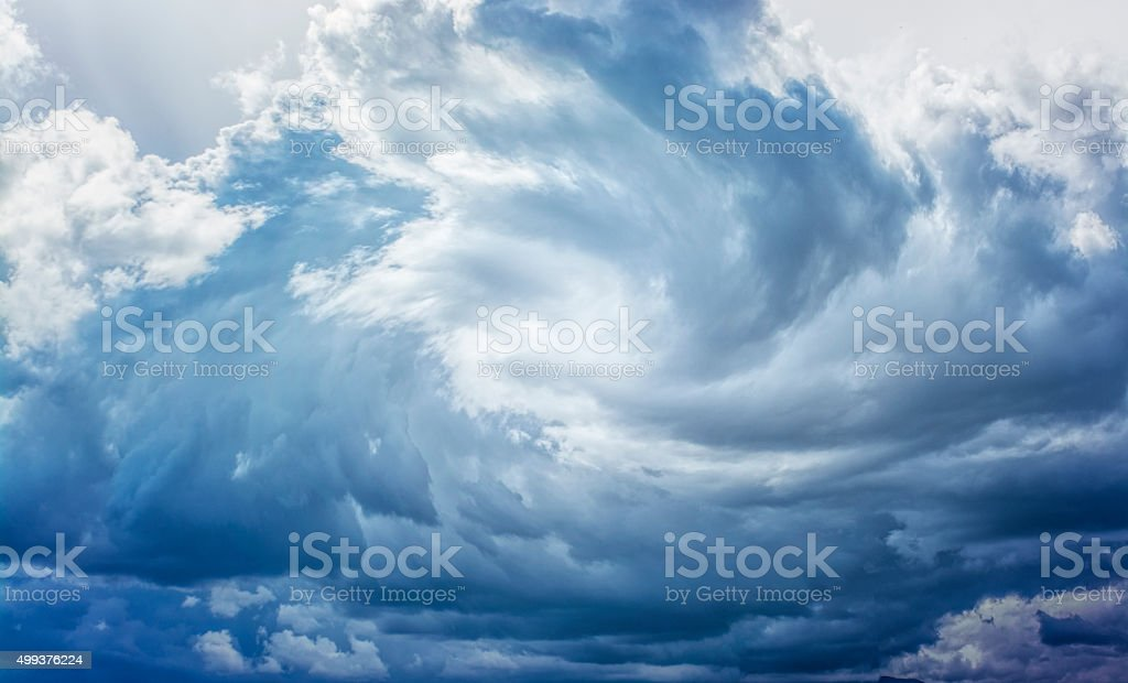 White Hole in the Whirlwind stock photo