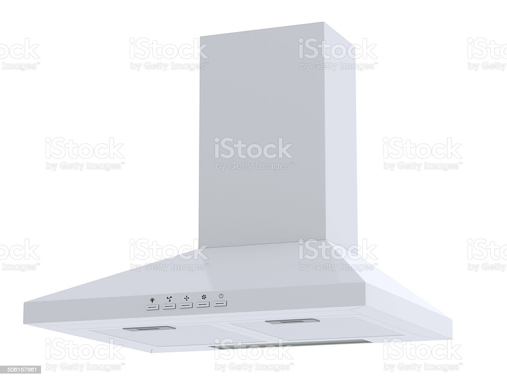 white hood stock photo
