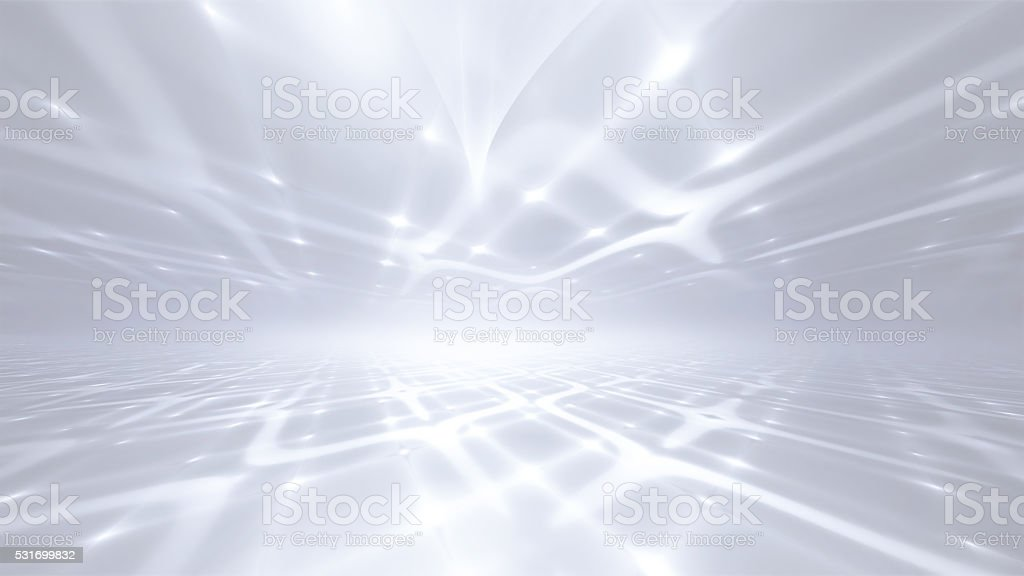 white horizon background stock photo