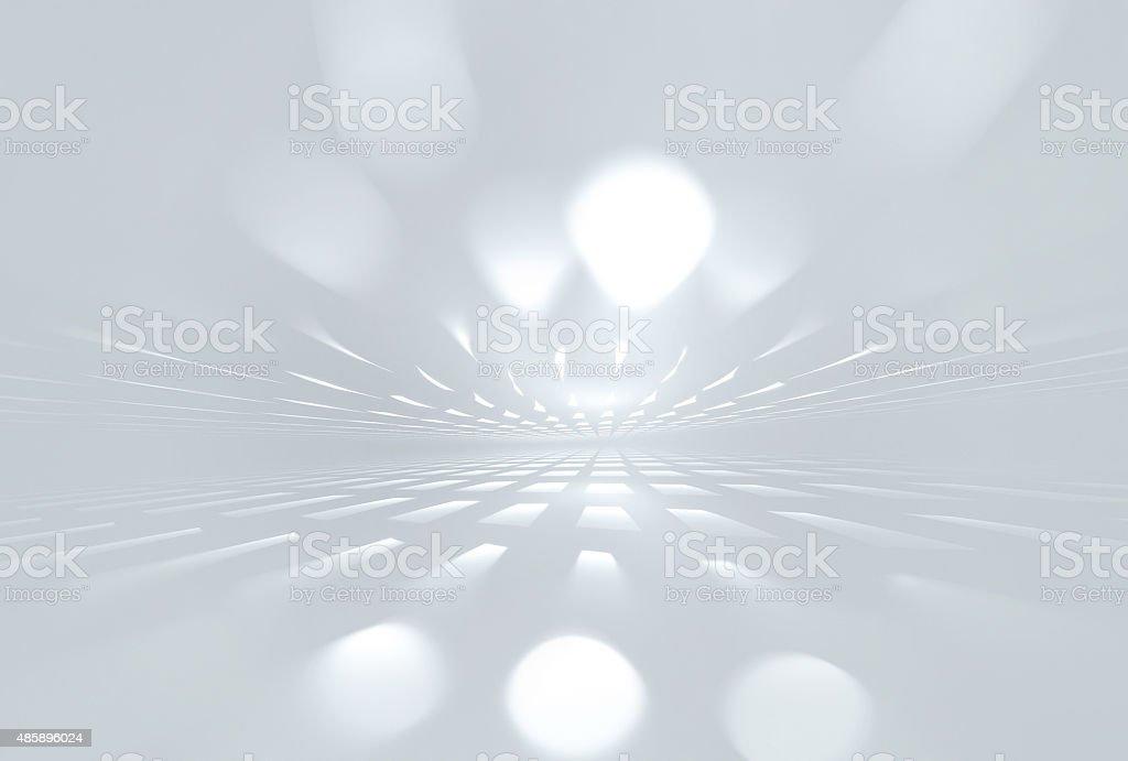 white horizon stock photo