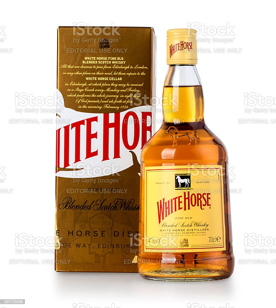 White Horse Scotch Whisk Stock Photo Download Image Now Istock