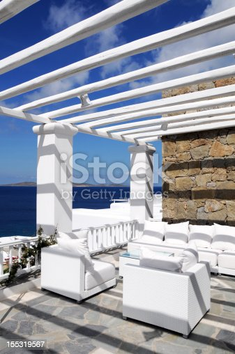 istock White House and Beautiful Seascape 155319567