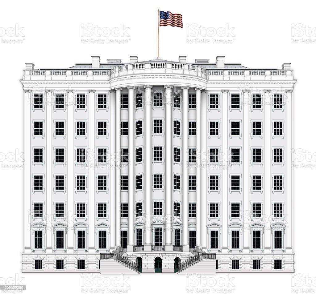 White House Executive Expansion stock photo