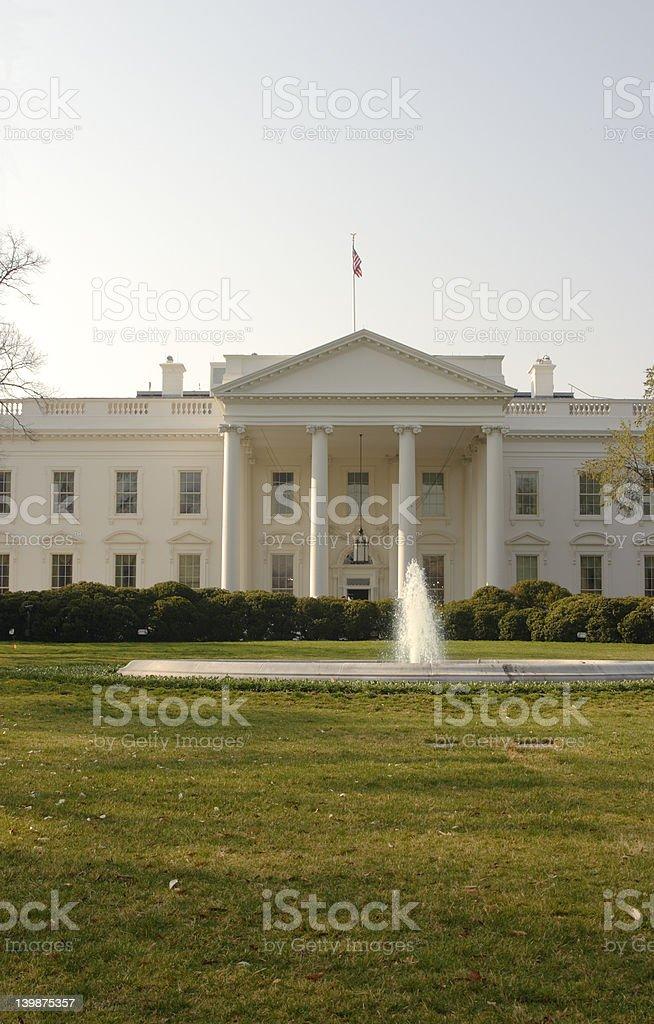 White House Front stock photo