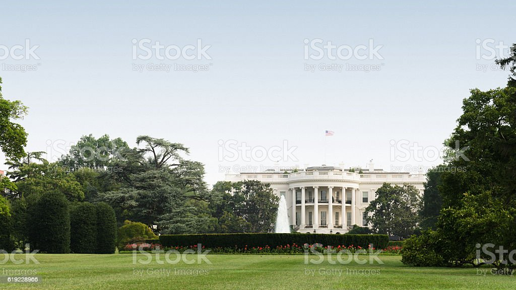 white house in washington dc white house in washington dc American Culture Stock Photo