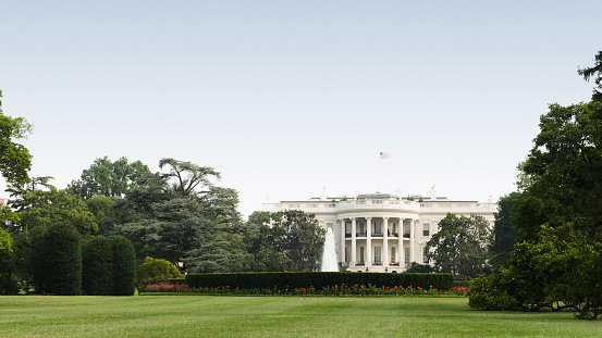 White House In Washington Dc Stock Photo - Download Image Now