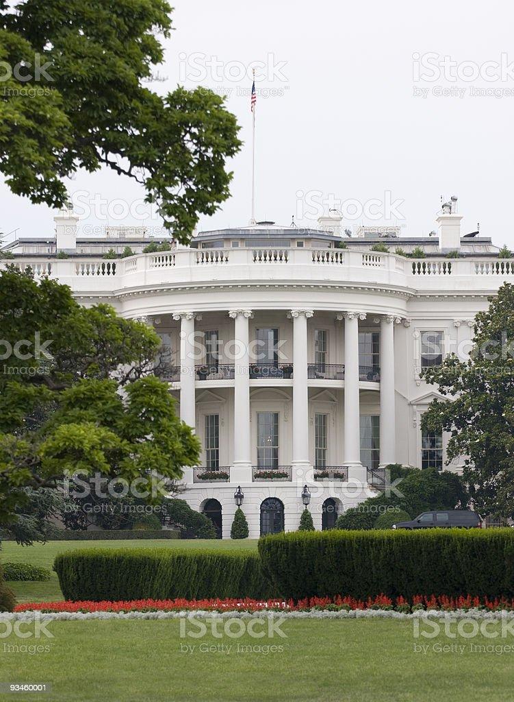 White House in Washington DC royalty-free stock photo