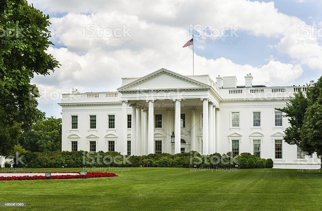 White House in Washington, D.C. USA royalty-free stock photo