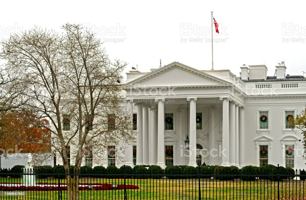 White House Official Residence And Workplace Of President Of United States Stock Photo Download Image Now Istock