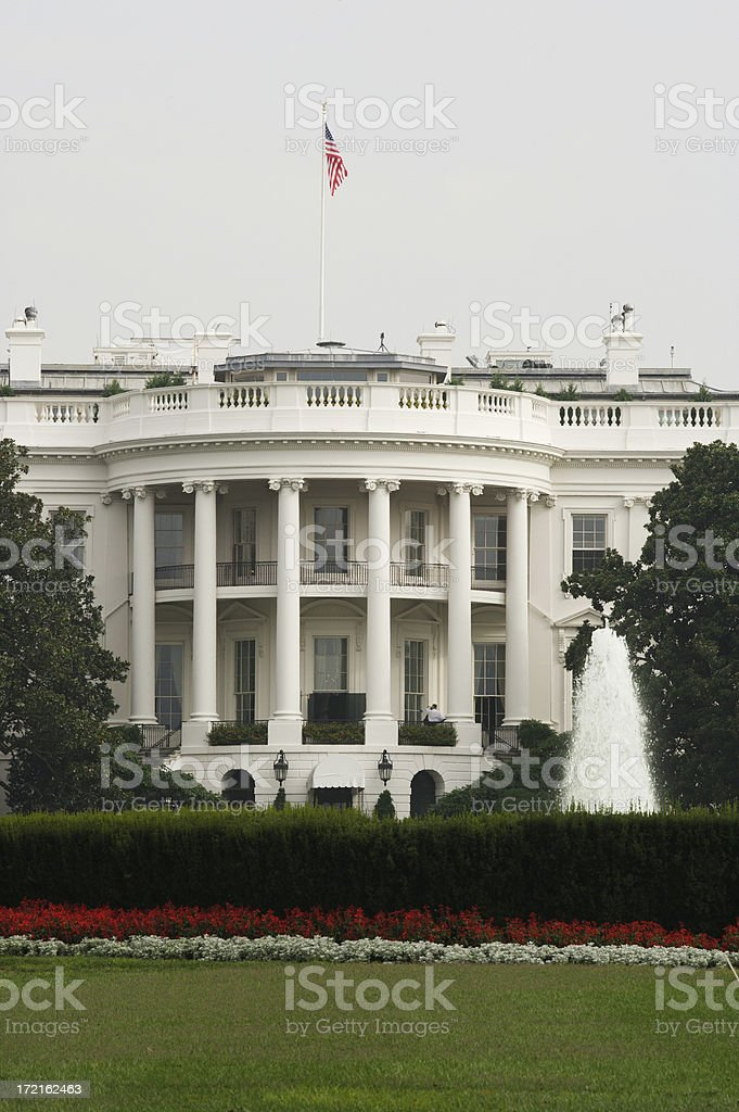 White House (V) royalty-free stock photo