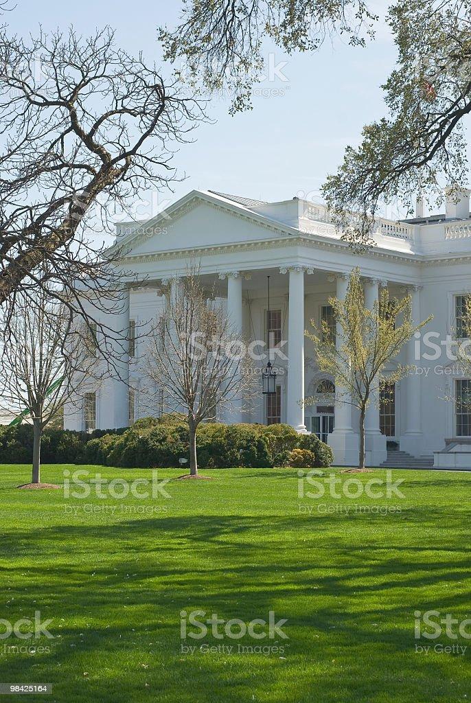 White House royalty-free stock photo