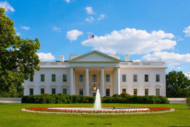beyaz saray - white house stok fotoğraflar ve resimler