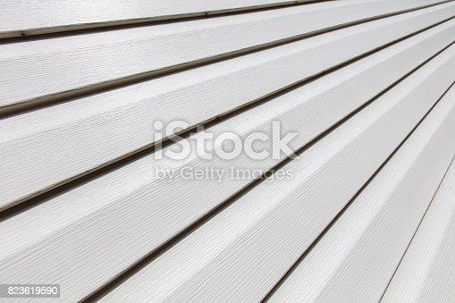 white house siding