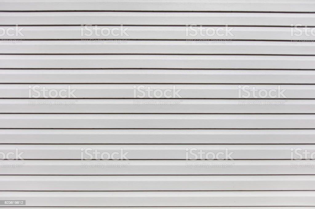 white house siding stock photo