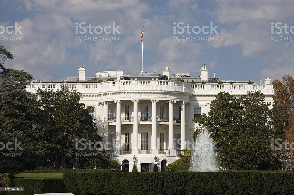 White House, Washington, DC royalty-free stock photo