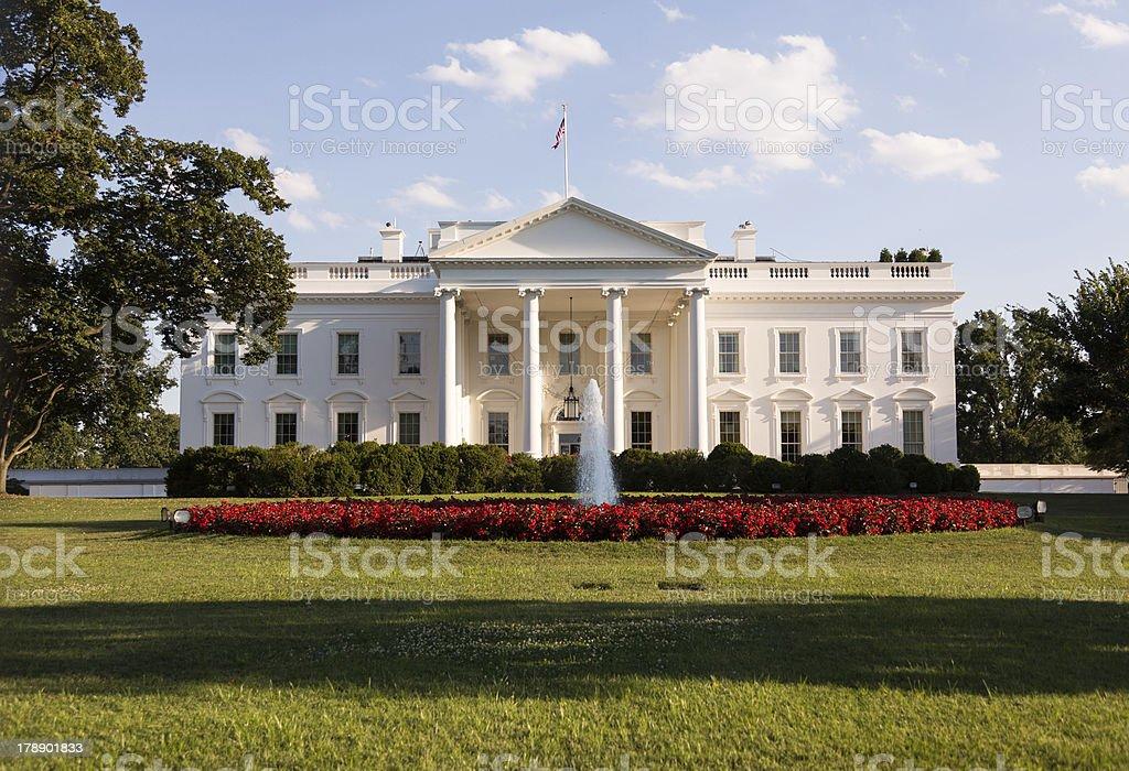 White House Washington DC - Royalty-free Architectural Column Stock Photo