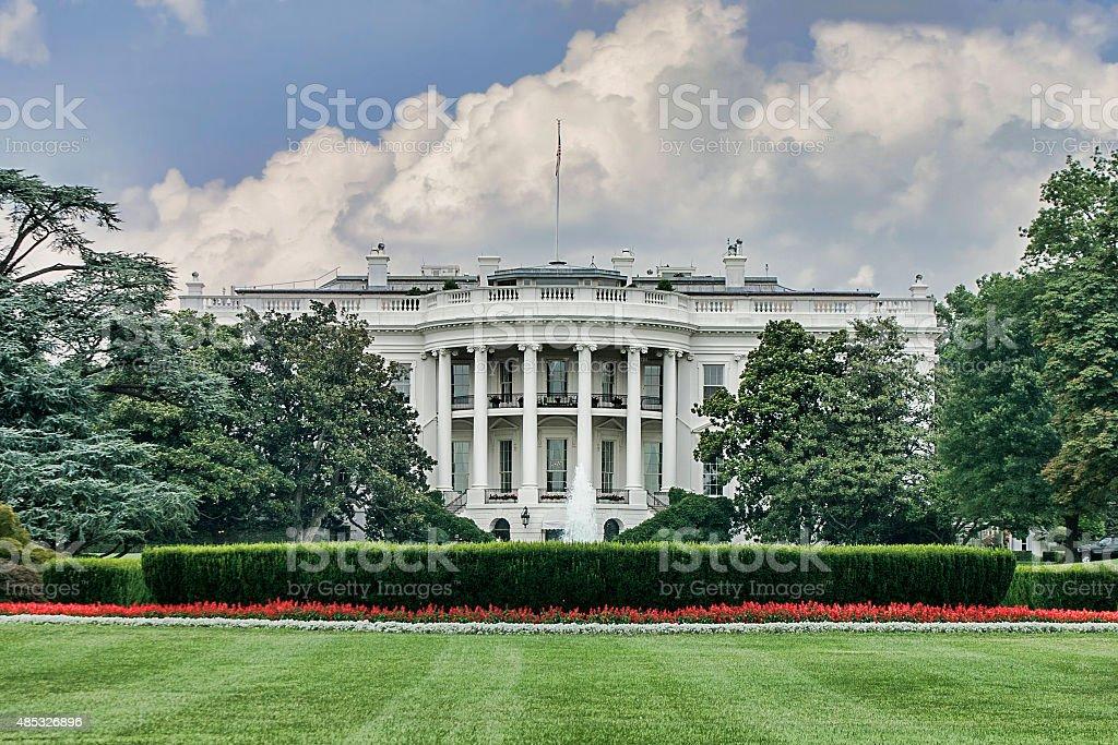 White House, Washington D.C. stock photo