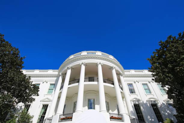 beyaz saray washington dc abd - white house stok fotoğraflar ve resimler