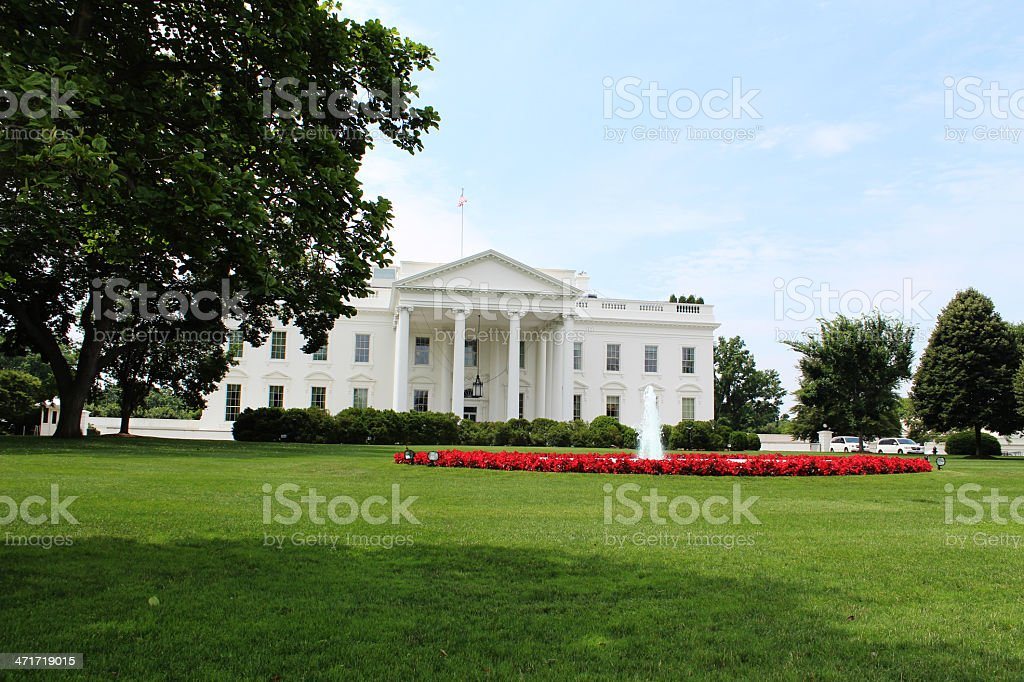 White House Washington royalty-free stock photo