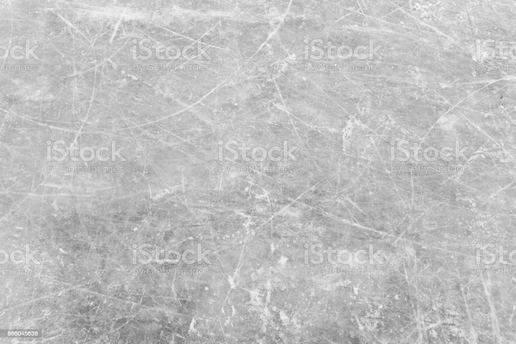 White ice and snow at ice rink as background - Foto stock royalty-free di Acqua