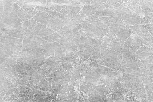 White Ice And Snow At Ice Rink As Background - Fotografie stock e altre immagini di Acqua