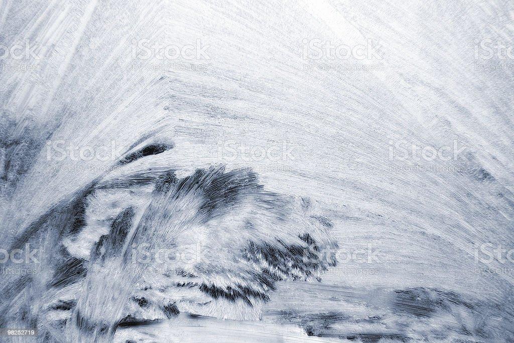 white ice pattern royalty-free stock photo