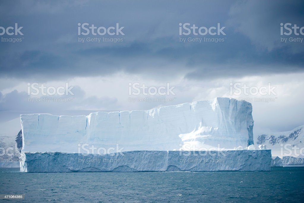 White Iceberg royalty-free stock photo