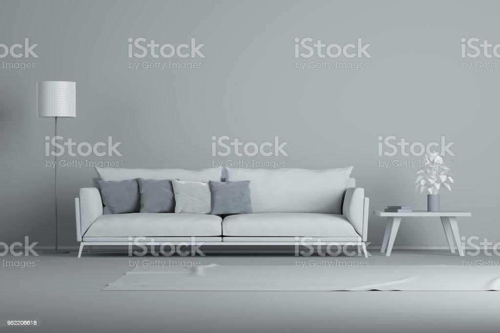 Photo libre de droit de Concept De Design Dintérieur Blanc ...