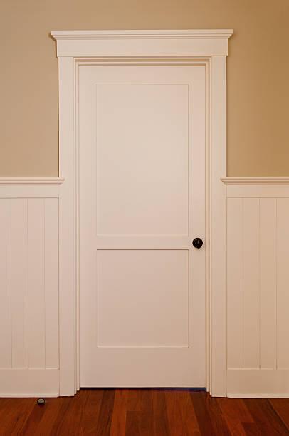 Porta Interior branco - foto de acervo