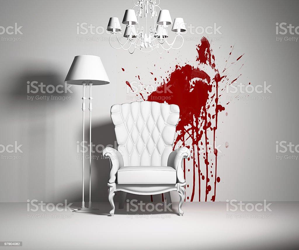 white interior royalty-free stock photo