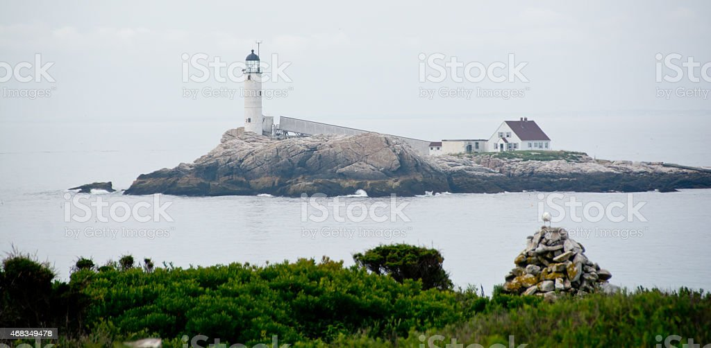 White Island Light royalty-free stock photo