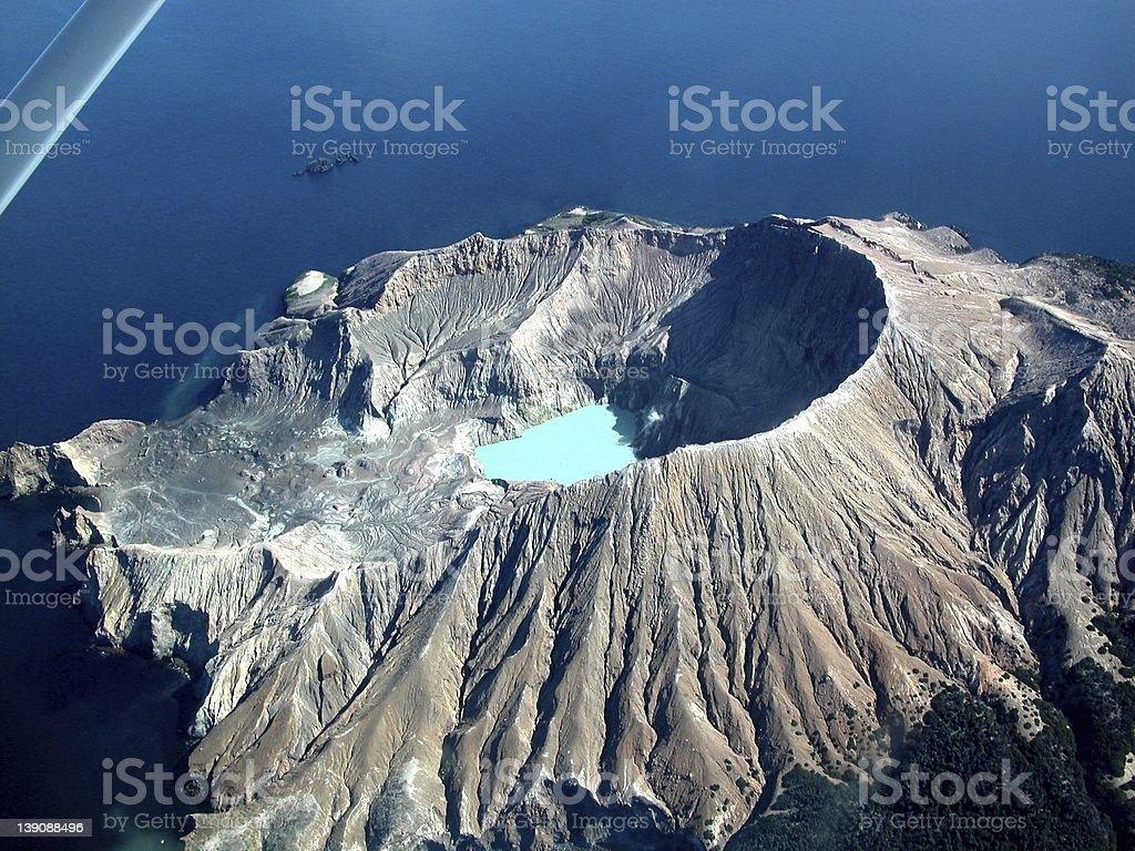 White Island, New Zealand stock photo