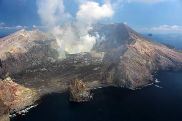 White Island - Vulkan – Foto