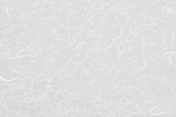 白い和紙テクスチャ - 和紙 ストックフォトと画像