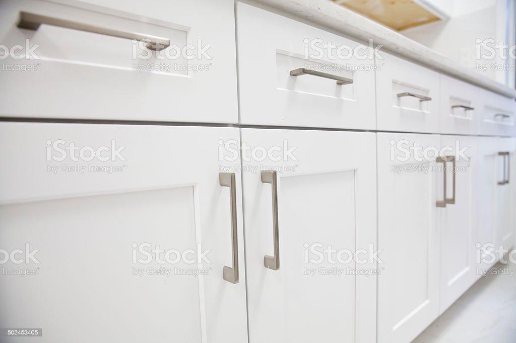 White Küche Schrank Stock-Fotografie und mehr Bilder von ...
