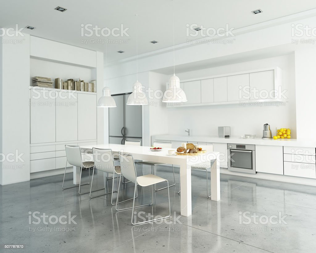 Cuisine blanc - Photo