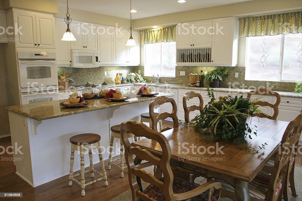 White kitchen series royalty-free stock photo