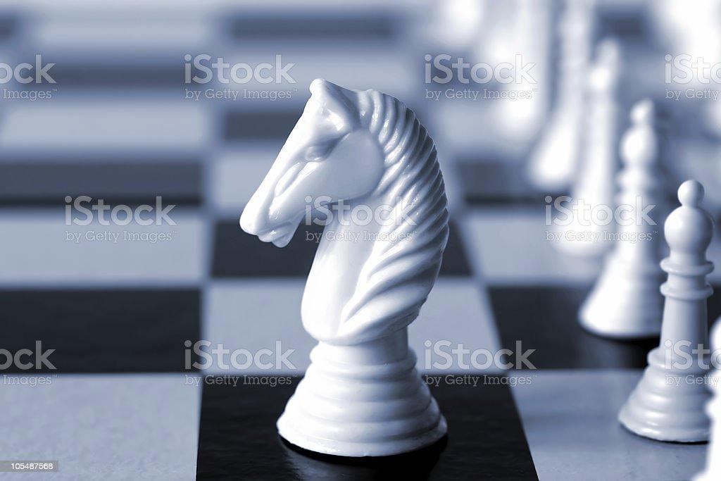White Knight stock photo