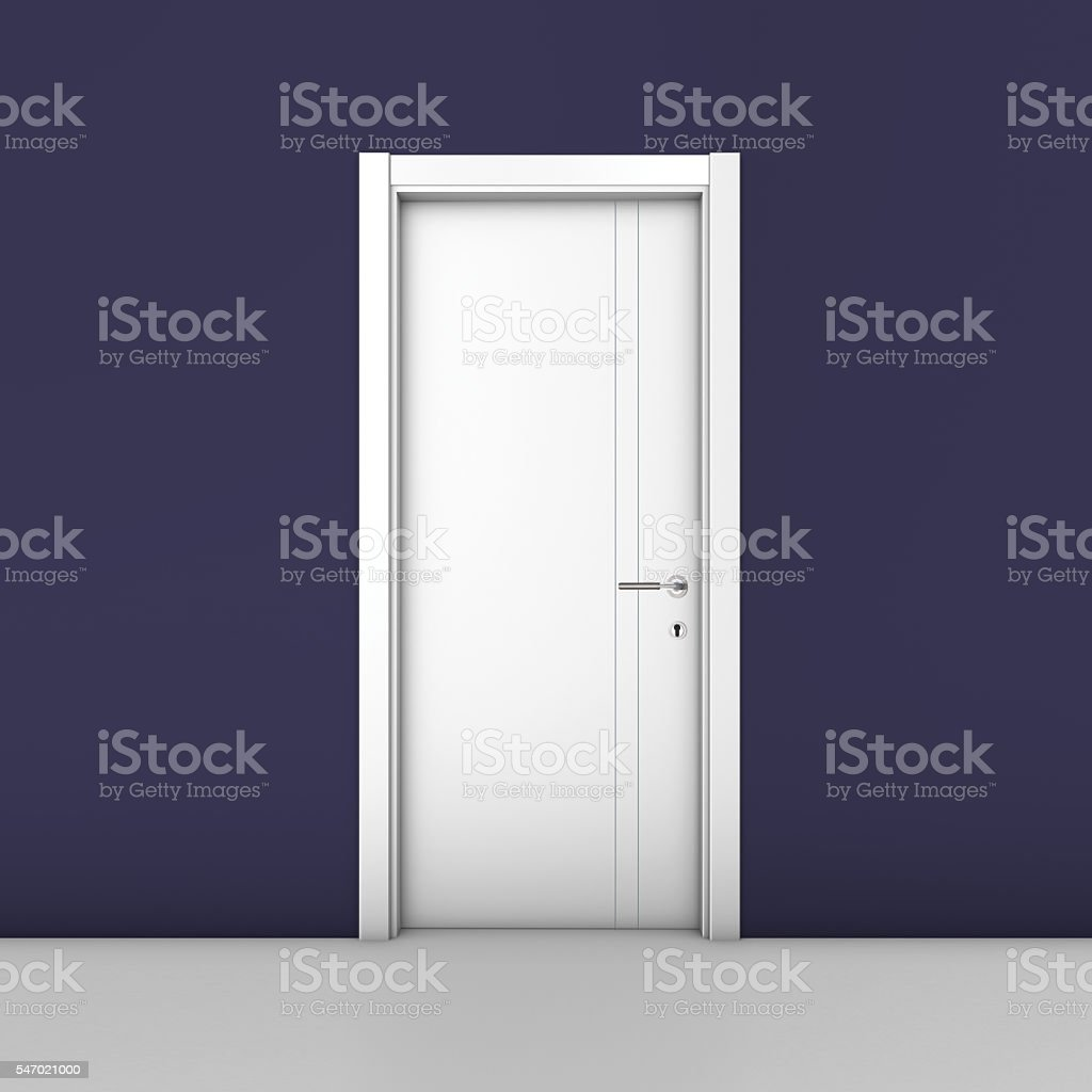 White Lacquer Door royalty-free stock photo & White Lacquer Door stock photo | iStock