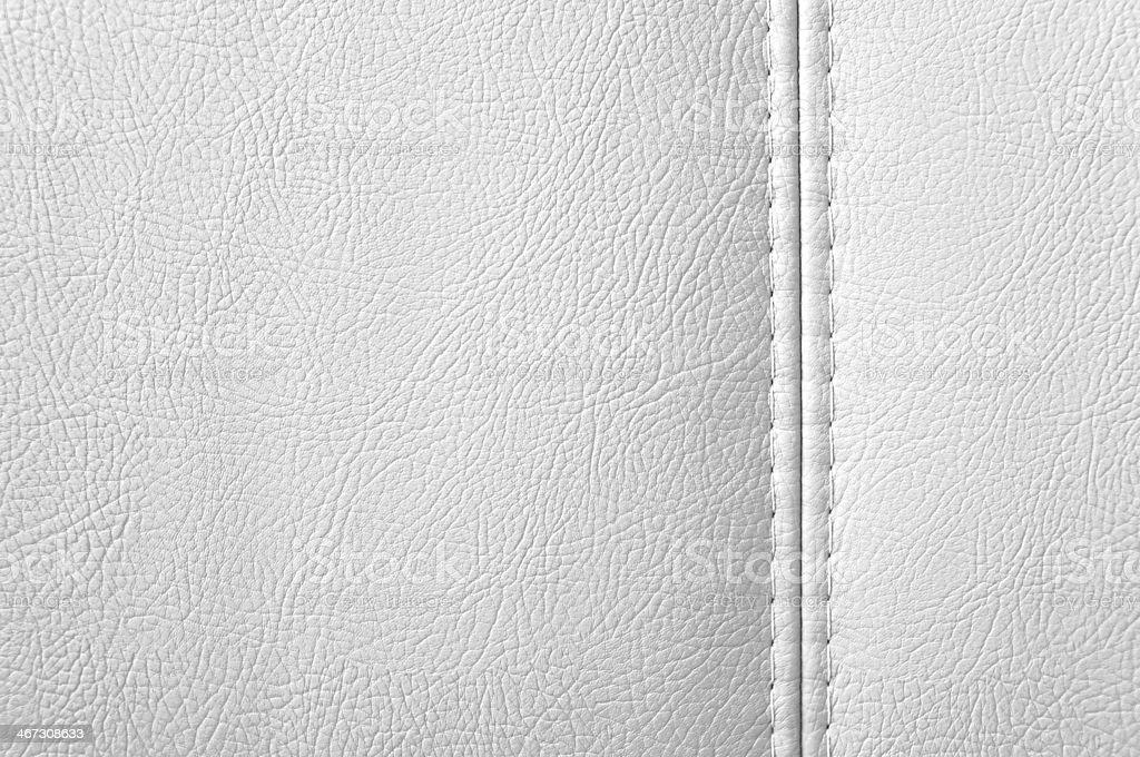 White leather background stock photo