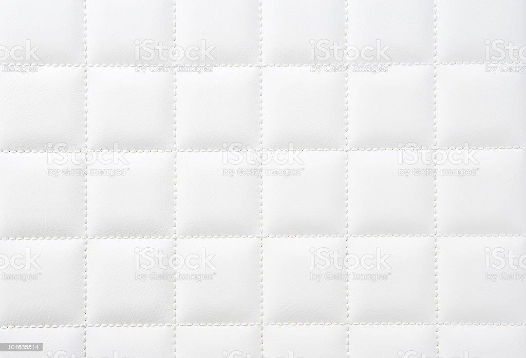 White leather royaltyfri bildbanksbilder