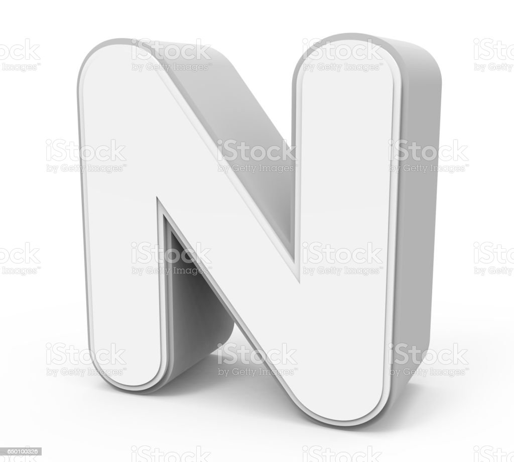 Royalty Free Letter N Clipart Pictures Images And Stock Photos Istock