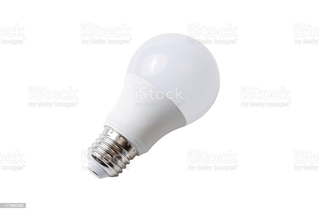 LED-Weiß Glühbirne – Foto