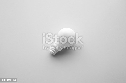 istock White lightbulb.Ideas creativity,inspiration,concept. 831651772