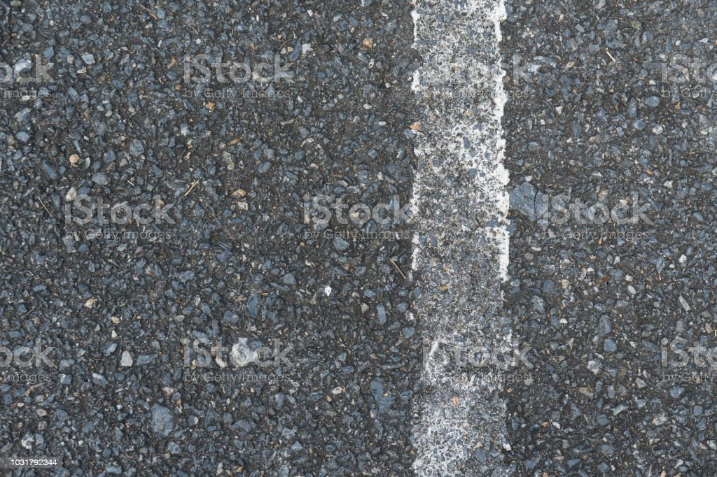 Weiße Linie auf der Straße – Foto